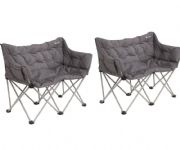Outwell Sardis Lake Double Camping Chair (Twin Pack)